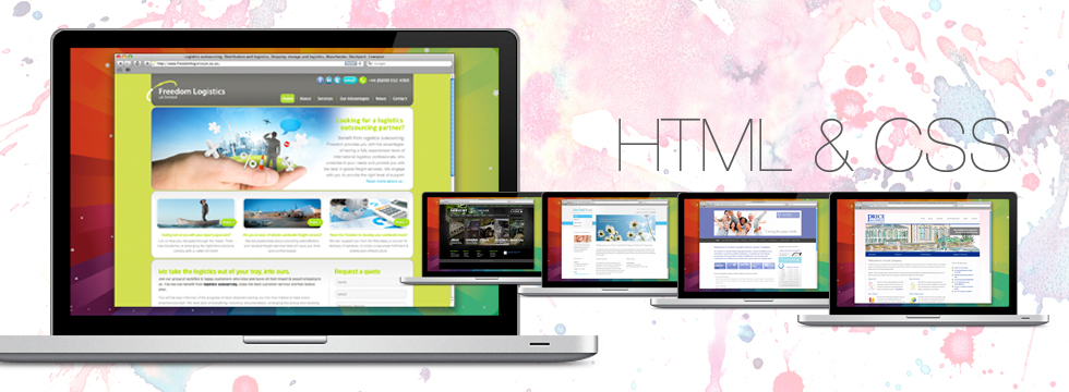 HTML and CSS Websites
