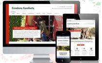 Creature Comforts – Website