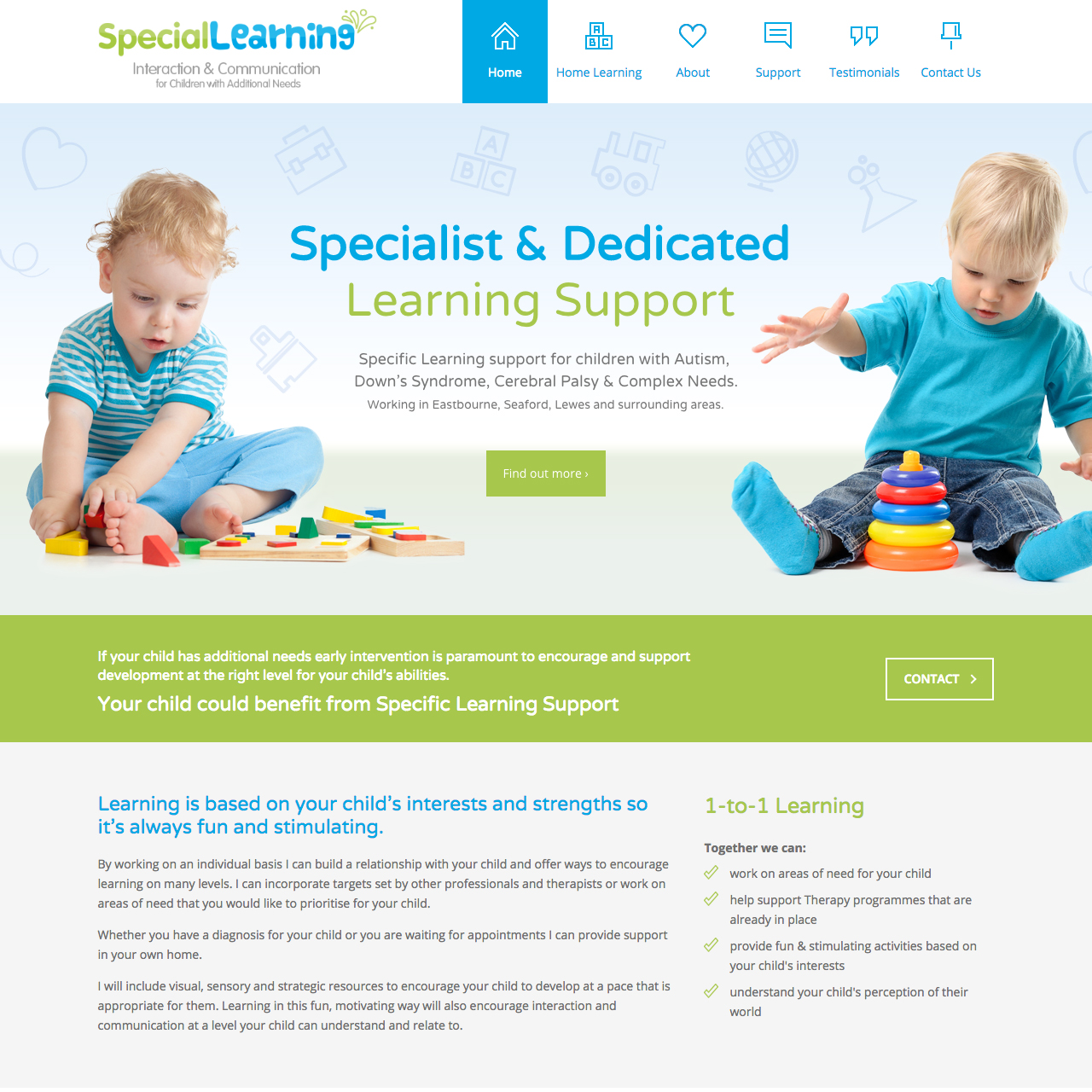 Landing Page Design Eastbourne East Sussex